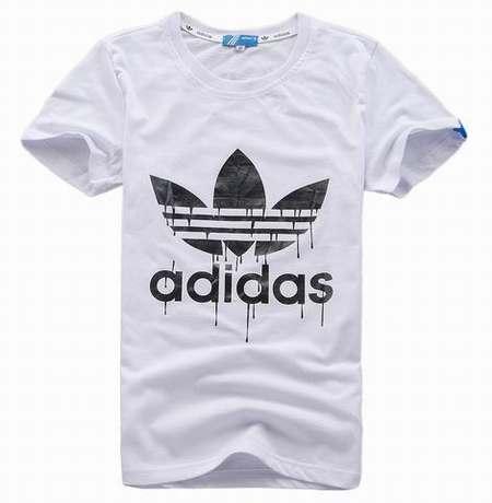 t-shirt col v adidas