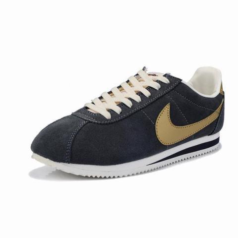 online retailer ab46f e7cfb basket-nike-cortez-cuir,nike-cortez-bleu-nylon,