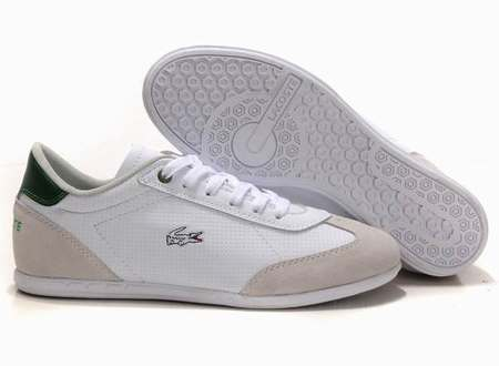 Chaussure Lacoste Blanche Homme