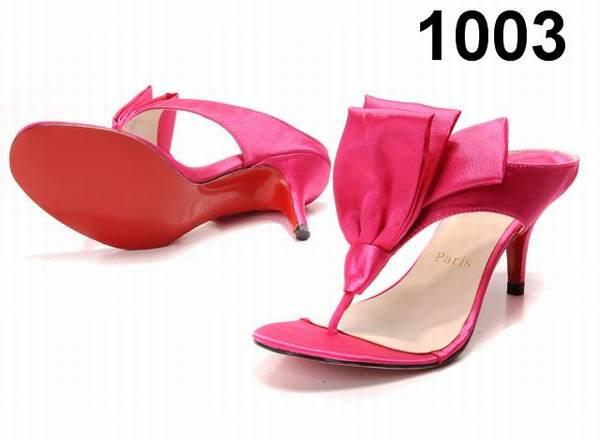 chaussure louboutin femme botte