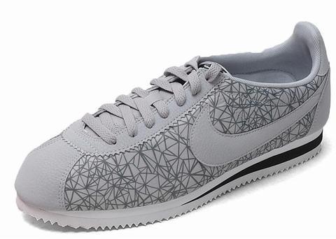 Hommes Nike Cortez Gris/Blanc