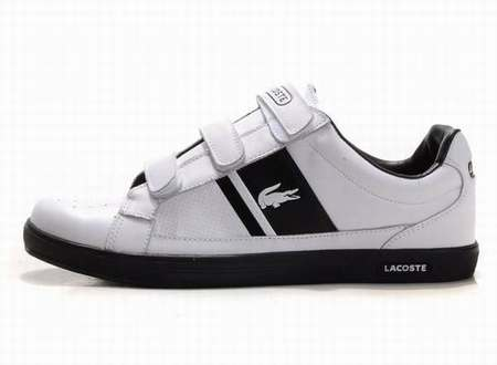 f3fc11a4d18 chaussures lacoste homme blanche