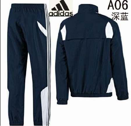 survetement Adidas brillant noir 75f71ad3a24