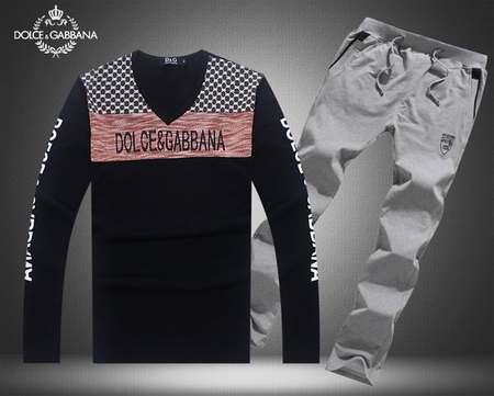 site réputé 1b828 c09e6 survetement Dolce Gabbana training,sous vetement pour femme ...